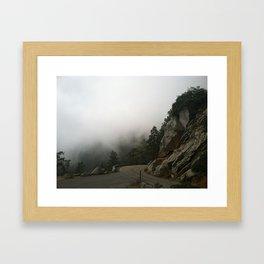 Sequoia's Scenic Route Framed Art Print