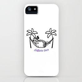 Chillaxo Taco iPhone Case
