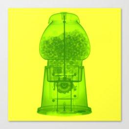 x-ray gum machine Canvas Print