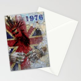 1976 - Punk's not dead! Stationery Cards