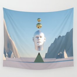 WOW LOOK AT THE TIME Wall Tapestry