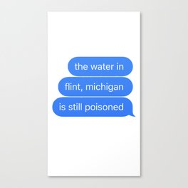Flint Canvas Print