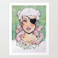 Queen of Xochimilco Art Print