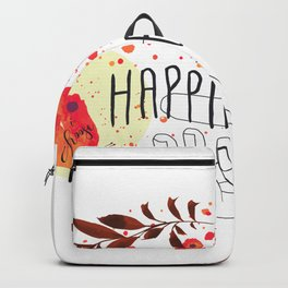 Happiness is in Your Hands Backpack