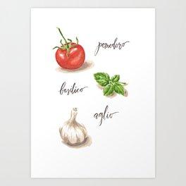 Cibo Art Print