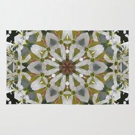 Lacy Serviceberry kaleidoscope - Amelanchier 0033 k5 Rug