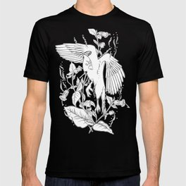 Deadly Nightshade & Bird T-shirt