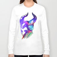 maleficent Long Sleeve T-shirts featuring Maleficent by Ryky