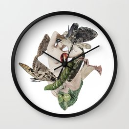 ROJO SILENTE Wall Clock