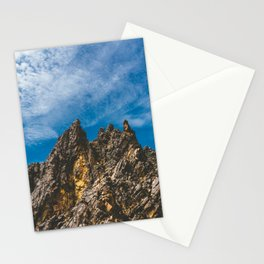 View Hiking up Iztaccihutal Volcano, Mexico City Stationery Cards