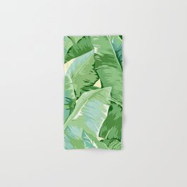 Banana leaf grandeur Hand & Bath Towel