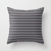 60s Throw Pillows featuring '60s arabasque by Acerebel