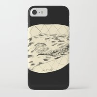 crocodile iPhone & iPod Cases featuring Crocodile by Mr. JJ