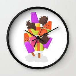 Ice cream 5 Wall Clock