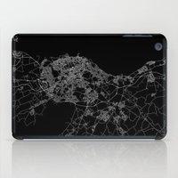 edinburgh iPad Cases featuring Edinburgh by Line Line Lines