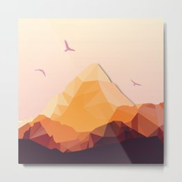 Night Mountains No. 25 Metal Print