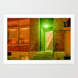Night Light 11 Art Print