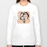 oriental Long Sleeve T-shirts featuring oriental colors by Sandyshow