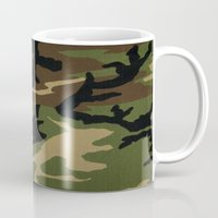 camo Mugs featuring Camo by gypsykissphotography