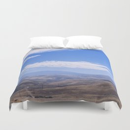 Forever Further To Go Duvet Cover
