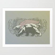 Fearless Creature: Saba Art Print