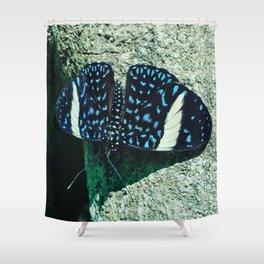 Starry Night Cracker Shower Curtain