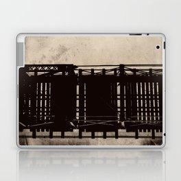 bridge to a simpler time Laptop & iPad Skin