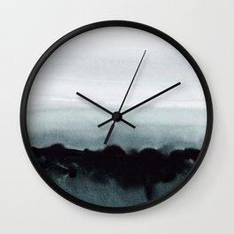 blurred landscape Wall Clock