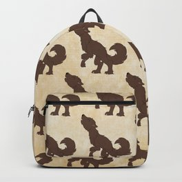 Werewolf Pattern Backpack