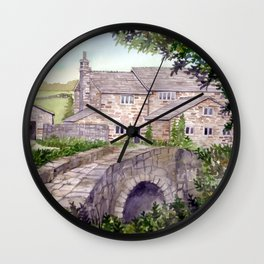 Stone Bridge Wall Clock