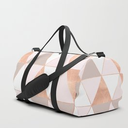 GEO TIKKI - ROSEGOLD PASTEL Duffle Bag