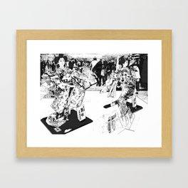 The Queens Framed Art Print