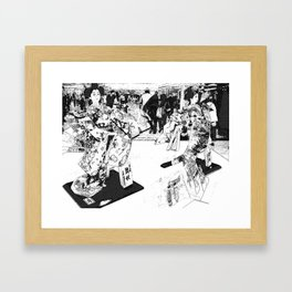 The Queens Framed Art Print