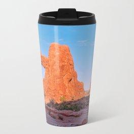 The Trail to North Window Panorama Travel Mug