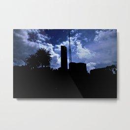 City Limits Metal Print