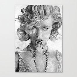 Nikole Kidman Canvas Print