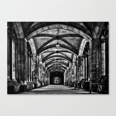 University of Toronto Knox College Cloister No 1 Canvas Print
