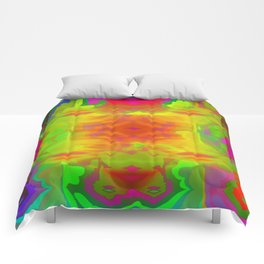 Colorful fitting ... Comforters
