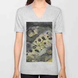 Viruses in space Unisex V-Neck