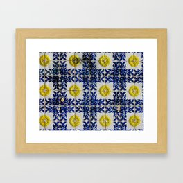 Portuguese Tiles Framed Art Print
