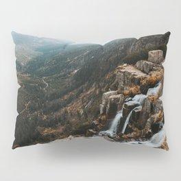 Autumn falls - Landscape and Nature Photography Pillow Sham