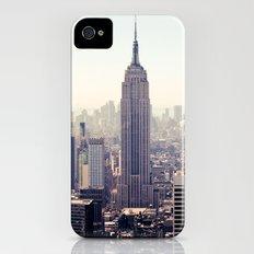 Manhattan - Empire State Building Pano   colored Slim Case iPhone (4, 4s)