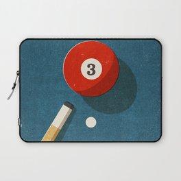 BILLIARDS / Ball 3 Laptop Sleeve