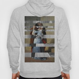 Hayez's The Kiss & Clark Gable and Vivien Leigh Hoody