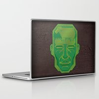 android Laptop & iPad Skins featuring Android Dreams by Doodle Dojo