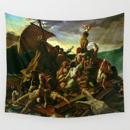 The Raft Of The Medusa By Théodore Géricault Wall Tapestry