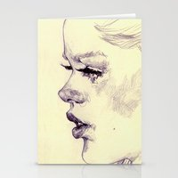 lolita Stationery Cards featuring lolita by adria mercuri