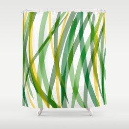 Spring Grass Shower Curtain