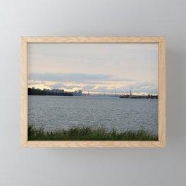 View of Halifax Bridge from Eastern Passage Boardwalk1 Framed Mini Art Print