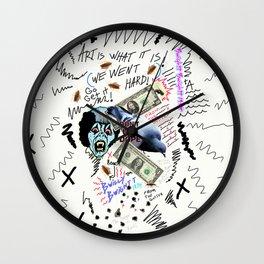 Art From The Gutter Wall Clock